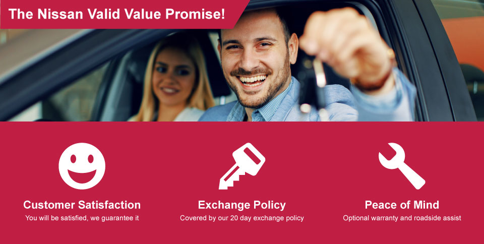 The Nissan Valid Value Promise
